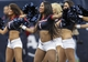 Nov 24, 2013; Houston, TX, USA; Houston Texans cheerleaders perform during the fourth quarter against the Jacksonville Jaguars at Reliant Stadium. Mandatory Credit: Troy Taormina-USA TODAY Sports