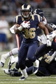 Nov 24, 2013; St. Louis, MO, USA;  St. Louis Rams running back Benny Cunningham (36) carries the ball in the fourth quarter against the Chicago Bears at the Edward Jones Dome. Mandatory Credit: Scott Kane-USA TODAY Sports