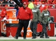 Nov 24, 2013; Kansas City, MO, USA; Kansas City Chiefs head coach Andy Reid watches play on the sidelines during the second half of the game against the San Diego Chargers at Arrowhead Stadium. The Chargers won 41-38. Mandatory Credit: Denny Medley-USA TODAY Sports