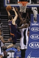 Nov 24, 2013; Orlando, FL, USA; Phoenix Suns shooting guard Goran Dragic (1) shoots over Orlando Magic power forward Andrew Nicholson (44) during the second half at Amway Center. Phoenix Suns 104-96. Mandatory Credit: Kim Klement-USA TODAY Sports