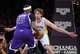 Nov 24, 2013; Los Angeles, CA, USA;  Los Angeles Lakers center Pau Gasol (16) guards Sacramento Kings center DeMarcus Cousins (15) during the game at Staples Center. Lakers won 100-86. Mandatory Credit: Jayne Kamin-Oncea-USA TODAY Sports