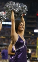 Aug 31, 2013; Arlington, TX, USA; Texas Christian Horned Frogs showgirls performs on the sidelines during the game against LSU Tigers at AT&T Stadium. Mandatory Credit: Matthew Emmons-USA TODAY Sports