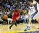 Nov 25, 2013; Memphis, TN, USA; Houston Rockets point guard Patrick Beverley (2) drives to the basket against the Memphis Grizzlies during the third quarter at FedExForum. Mandatory Credit: Justin Ford-USA TODAY Sports