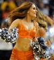 Nov 8, 2013; Phoenix, AZ, USA; A Phoenix Suns dancer performs during the fourth quarter against the Denver Nuggets at US Airways Center. Mandatory Credit: Casey Sapio-USA TODAY Sports