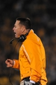 Nov 2, 2013; Columbia, MO, USA; Tennessee Volunteers head coach Butch Jones reacts to play during the first half of the game against the Missouri Tigers at Faurot Field. Missouri won 31-3. Mandatory Credit: Denny Medley-USA TODAY Sports