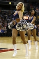 Nov 26, 2013; Washington, DC, USA; Washington Wizards cheerleaders dance on the court during a stoppage in play against the Los Angeles Lakers at Verizon Center. The Wizards won 116-111. Mandatory Credit: Geoff Burke-USA TODAY Sports