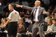 Nov 27, 2013; Brooklyn, NY, USA; Brooklyn Nets head coach Jason Kidd coaches against the Los Angeles Lakers during the second half at Barclays Center. The Lakers won 99-94. Mandatory Credit: Joe Camporeale-USA TODAY Sports