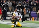 Nov 28, 2013; Baltimore, MD, USA; Pittsburgh Steelers wide receiver Emmanuel Sanders (88) catches a touchdown pass in front of Baltimore Ravens linebacker Daryl Smith (51) during a NFL football game on Thanksgiving at M&T Bank Stadium. Mandatory Credit: Evan Habeeb-USA TODAY Sports