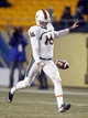 Nov 29, 2013; Pittsburgh, PA, USA; Miami Hurricanes punter Pat O'Donnell (16) punts the ball to the Pittsburgh Panthers during the third quarter at Heinz Field. Miami won 41-31. Mandatory Credit: Charles LeClaire-USA TODAY Sports