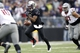Nov 29, 2013; Seattle, WA, USA; Washington Huskies quarterback Keith Price (17) scrambles out of the pocket against the Washington State Cougars during the fourth quarter at Husky Stadium. Mandatory Credit: Joe Nicholson-USA TODAY Sports