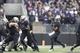 Nov 29, 2013; Seattle, WA, USA; Washington Huskies quarterback Keith Price (17) passes against the Washington State Cougars during the fourth quarter at Husky Stadium. Mandatory Credit: Joe Nicholson-USA TODAY Sports