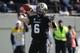Nov 30, 2013; Nashville, TN, USA; Vanderbilt Commodores quarterback Austyn Carta-Samuels (6) drops back to pass against the Wake Forest Demon Deacons during the first quarter at Vanderbilt Stadium. Mandatory Credit: Randy Sartin-USA TODAY Sports