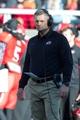 Nov 30, 2013; Salt Lake City, UT, USA; Utah Utes head coach Kyle Whittingham during the first half against the Colorado Buffaloes at Rice-Eccles Stadium. Mandatory Credit: Russ Isabella-USA TODAY Sports