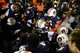 Nov 30, 2013; Auburn, AL, USA; The Auburn Tigers celebrate after defeating the Alabama Crimson Tide at Jordan Hare Stadium. Auburn Tigers won 34-28. Mandatory Credit: John David Mercer-USA TODAY Sports