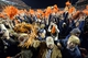Nov 30, 2013; Auburn, AL, USA; Auburn Tigers fans cheer on the field after the game against the Alabama Crimson Tide at Jordan Hare Stadium. Auburn Tigers won 34-28. Mandatory Credit: John David Mercer-USA TODAY Sports