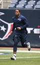 Dec 1, 2013; Houston, TX, USA; New England Patriots safety Tavon Wilson (27) on the field prior to the game against the Houston Texans at Reliant Stadium. Mandatory Credit: Matthew Emmons-USA TODAY Sports