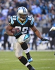 Dec 1, 2013; Charlotte, NC, USA; Carolina Panthers running back Jonathan Stewart (28) runs in the fourth quarter. The Carolina Panthers defeated the Tampa Bay Buccaneers 27-6 at Bank of America Stadium. Mandatory Credit: Bob Donnan-USA TODAY Sports