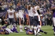 Dec 1, 2013; Minneapolis, MN, USA; The Chicago Bears react after kicker Robbie Gould (9) misses a field goal during overtime against the Minnesota Vikings at Mall of America Field at H.H.H. Metrodome. The Vikings defeated the Bears 23-20 in overtime. Mandatory Credit: Brace Hemmelgarn-USA TODAY Sports