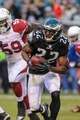 Dec 1, 2013; Philadelphia, PA, USA;  Philadelphia Eagles cornerback Brandon Boykin (22) carries the ball during the game against the Arizona Cardinals at Lincoln Financial Field. The Philadelphia Eagles won the game 24-21.  Mandatory Credit: John Geliebter-USA TODAY Sports