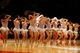 Dec 1, 2013; New York, NY, USA;  New York Knicks dancers perform during the game against the New Orleans Pelicans at Madison Square Garden. Mandatory Credit: Anthony Gruppuso-USA TODAY Sports