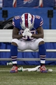 Dec 1, 2013; Toronto, ON, Canada; Buffalo Bills wide receiver Marquise Goodwin (88) reacts after a loss against the Atlanta Falcons at the Rogers Center. Falcons beat the Bills 34 to 31 in overtime.  Mandatory Credit: Timothy T. Ludwig-USA TODAY Sports