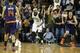 Nov 19, 2013; Sacramento, CA, USA; Sacramento Kings center DeMarcus Cousins (15) controls the ball against the Phoenix Suns during the fourth quarter at Sleep Train Arena. The Sacramento Kings defeated the Phoenix Suns 107-104. Mandatory Credit: Kelley L Cox-USA TODAY Sports