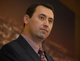 Dec 3, 2013; Los Angeles, CA, USA; Steve Sarkisian at a press conference to announce his hiring as Southern California Trojans football coach at John McKay Center. Mandatory Credit: Kirby Lee-USA TODAY Sports
