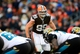 Dec 1, 2013; Cleveland, OH, USA; Cleveland Browns outside linebacker Paul Kruger (99) against the Jacksonville Jaguars at FirstEnergy Stadium. Mandatory Credit: Andrew Weber-USA TODAY Sports