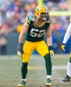 Nov 24, 2013; Green Bay, WI, USA; Green Bay Packers linebacker Clay Matthews (52) during the game against the Minnesota Vikings at Lambeau Field.  The Vikings and Packers tied 26-26.  Mandatory Credit: Jeff Hanisch-USA TODAY Sports