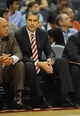 Dec 2, 2013; Washington, DC, USA; Washington Wizards head coach Randy Wittman on the bench against the Orlando Magic during the first half at the Verizon Center. Mandatory Credit: Brad Mills-USA TODAY Sports