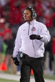 Nov 23, 2013; Columbus, OH, USA;  Ohio State Buckeyes head coach Urban Meyer on the sidelines of the game against the Indiana Hoosiers at Ohio Stadium. Ohio State Buckeyes beat Indiana Hoosiers 42-14. Mandatory Credit: Trevor Ruszkowksi-USA TODAY Sports