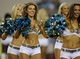 Dec 5, 2013; Jacksonville, FL, USA; Jacksonville Jaguars cheerleaders perform after the first quarter against the Houston Texans at EverBank Field. Mandatory Credit: Phil Sears-USA TODAY Sports