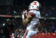 Dec 5, 2013; Cincinnati, OH, USA; Louisville Cardinals wide receiver Damian Copeland (7) catches a pass in the end zone for a touchdown during the fourth quarter against the Cincinnati Bearcats at Nippert Stadium. Mandatory Credit: Andrew Weber-USA TODAY Sports