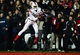 Dec 5, 2013; Cincinnati, OH, USA; Louisville Cardinals wide receiver DeVante Parker (9) catches a pass in the end zone while being defended by Cincinnati Bearcats defensive back Howard Wilder (3) during the fourth quarter at Nippert Stadium. Mandatory Credit: Andrew Weber-USA TODAY Sports