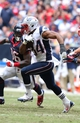 Dec 1, 2013; Houston, TX, USA; New England Patriots running back Shane Vereen (34) runs with the ball against the Houston Texans at Reliant Stadium. Mandatory Credit: Matthew Emmons-USA TODAY Sports