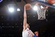 Dec 6, 2013; New York, NY, USA; New York Knicks power forward Andrea Bargnani (77) dunks against the Orlando Magic during the second half at Madison Square Garden. The Knicks won the game 121-83. Mandatory Credit: Joe Camporeale-USA TODAY Sports