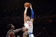 Dec 6, 2013; New York, NY, USA; New York Knicks power forward Andrea Bargnani (77) puts up a shot against the Orlando Magic during the second half at Madison Square Garden. The Knicks won the game 121-83. Mandatory Credit: Joe Camporeale-USA TODAY Sports