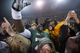 Dec 7, 2013; Waco, TX, USA; The Baylor Bears celebrate their win over the Texas Longhorns in the last game ever at Floyd Casey Stadium. The Bears won 30-10. Mandatory Credit: Jerome Miron-USA TODAY Sports