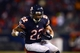 Dec 9, 2013; Chicago, IL, USA; Chicago Bears running back Matt Forte (22) runs the ball  during the fourth quarter against the Dallas Cowboys at Soldier Field. Mandatory Credit: Andrew Weber-USA TODAY Sports