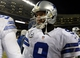 Dec 9, 2013; Chicago, IL, USA; Dallas Cowboys quarterback Tony Romo (9) walks off the field after the game at Soldier Field. Chicago defeats Dallas 45-28. Mandatory Credit: Mike DiNovo-USA TODAY Sports