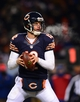 Dec 9, 2013; Chicago, IL, USA; Chicago Bears quarterback Josh McCown (12) looks to pass during the fourth quarter against the Dallas Cowboys at Soldier Field. Mandatory Credit: Andrew Weber-USA TODAY Sports
