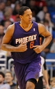 Nov 24, 2013; Orlando, FL, USA; Phoenix Suns power forward Channing Frye (8) against the Orlando Magic during the second half at Amway Center. Phoenix Suns defeated the Orlando Magic 104-96. Mandatory Credit: Kim Klement-USA TODAY Sports