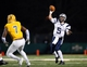 Dec 14, 2013; Hammond, LA, USA; New Hampshire Wildcats quarterback Sean Goldrich (5) passes the ball against the Southeastern Louisiana Lions in the second half at Strawberry Stadium. New Hampshire defeated Southeastern Louisiana 20-17. Mandatory Credit: Crystal LoGiudice-USA TODAY Sports