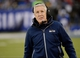 Dec 15, 2013; East Rutherford, NJ, USA; Seattle Seahawks head coach Pete Carroll during the game against the New York Giants at MetLife Stadium. Mandatory Credit: Robert Deutsch-USA TODAY Sports