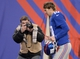 Dec 15, 2013; East Rutherford, NJ, USA; New York Giants quarterback Eli Manning (10) leaves the field after the game against the Seattle Seahawks at MetLife Stadium. Mandatory Credit: Robert Deutsch-USA TODAY Sports