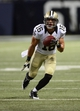 Dec 15, 2013; St. Louis, MO, USA; New Orleans Saints wide receiver Lance Moore (16) carries the ball against the St. Louis Rams during the second half at the Edward Jones Dome. The Rams defeated the Saints 27-16. Mandatory Credit: Jeff Curry-USA TODAY Sports