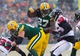 Dec 8, 2013; Green Bay, WI, USA; Green Bay Packers running back Eddie Lacy (27) during the game against the Atlanta Falcons at Lambeau Field.  Green Bay won 22-21.  Mandatory Credit: Jeff Hanisch-USA TODAY Sports