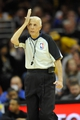 Dec 10, 2013; Cleveland, OH, USA; NBA referee Dick Bavetta during a game between the Cleveland Cavaliers and the New York Knicks at Quicken Loans Arena. Cleveland won 109-94. Mandatory Credit: David Richard-USA TODAY Sports