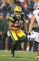 Dec 15, 2013; Arlington, TX, USA; Green Bay Packers receiver Jarrett Boykin (11) runs after a reception against the Dallas Cowboys at AT&T Stadium. Mandatory Credit: Matthew Emmons-USA TODAY Sports