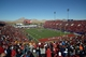 Dec 21, 2013; Las Vegas, NV, USA; General view of the Las Vegas Bowl between the Fresno State Bulldogs and the Southern California Trojans  at Sam Boyd Stadium. Mandatory Credit: Kirby Lee-USA TODAY Sports